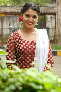 Tamil Actress Sandra Amy Picture Gallery at Thoppi Movie Audio Launch 3.JPG