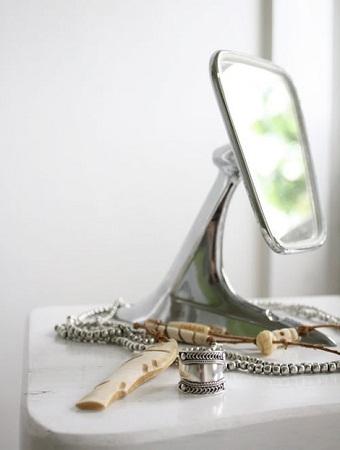 reciclados espejos y candelabros