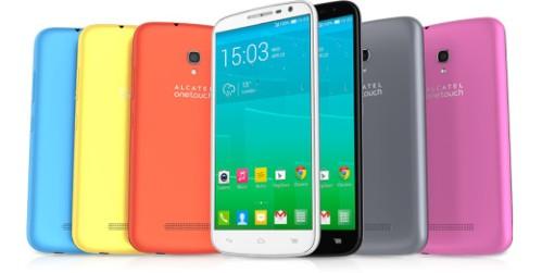 Phablet android LTE di grandi dimensioni da Alcatel