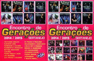 DVD Encontro de Gerações – Sertanejo (2015)