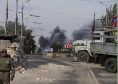 Separatistas prorrusos de Ucrania retiran su artillería del frente al igual que el Ejército