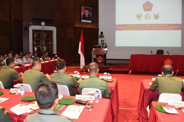 Kepala Staf Umum TNI Buka Rakornis Penerangan TNI Tahun 2016