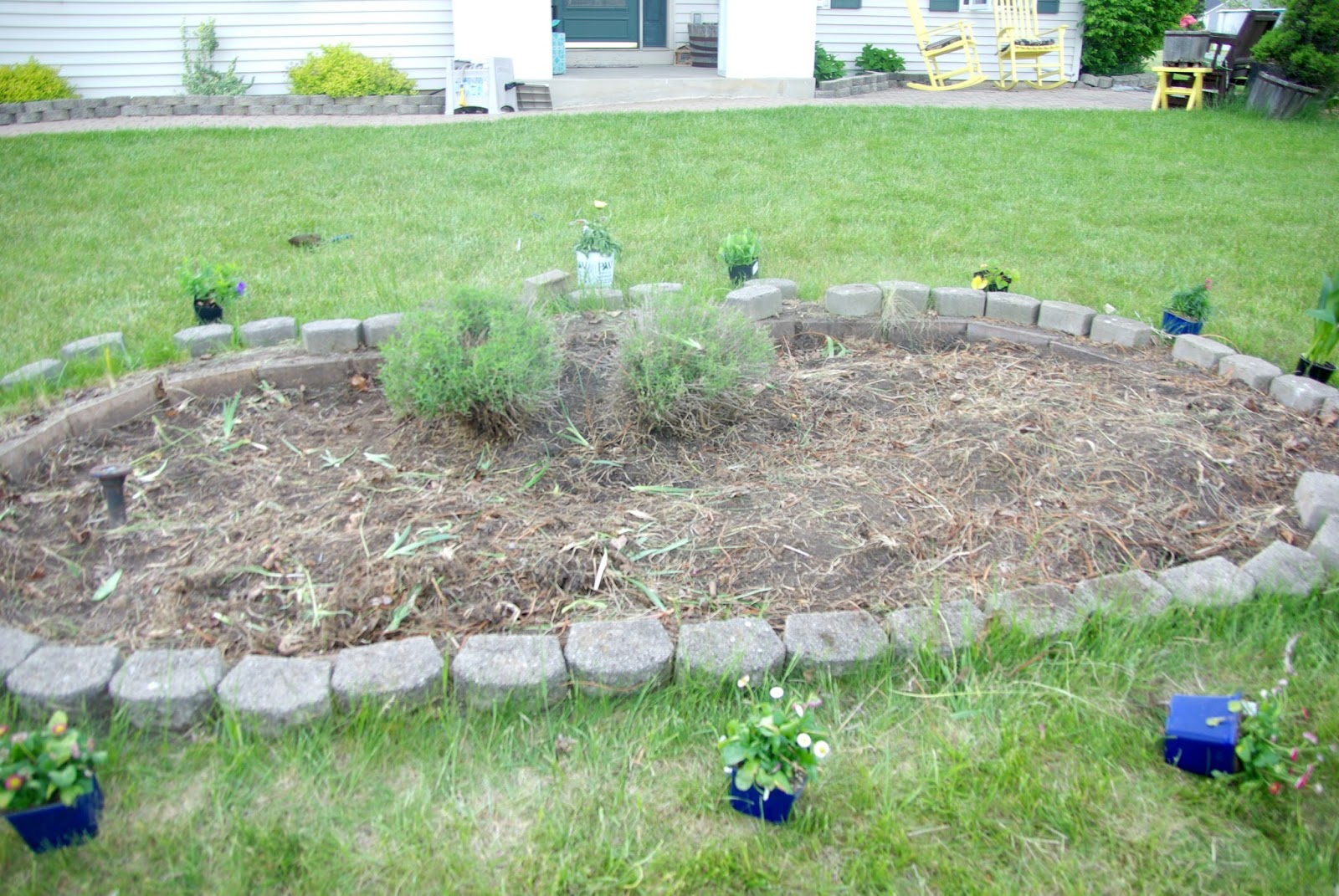 updating front yard planter u2022 our house now a home