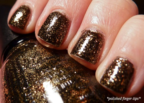 China Glaze Bat My Eyes - Artificial Light