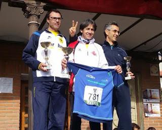 Francisco Javier Gándara, podium de EuroTaller Theodora en la Carrera de los Inocentes