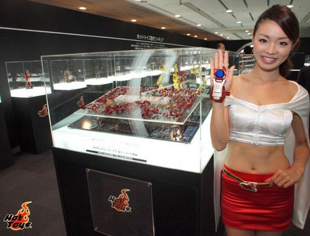 Fotos de la exposición Iron Man 300%: brutal exhibición en Tokio