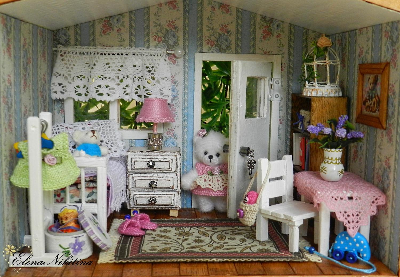 Как сделать мебель для кукольный домик своими руками
