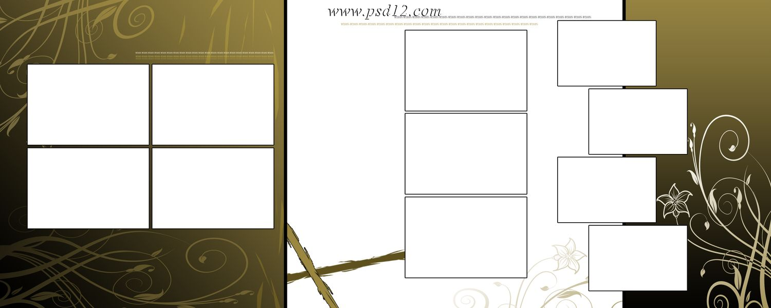 Download Wedding Album Templates In PSD