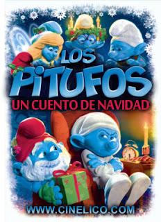 Poster de Los Pitufos: Un Cuento de Navidad