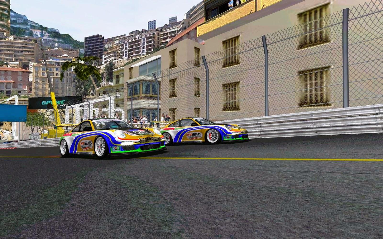 Monaco Race Preparations