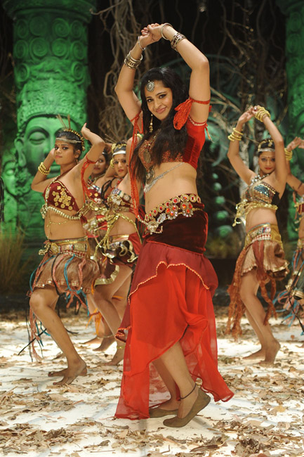 Anushka Shetty Latest Hot Stills in Mirchi Movie