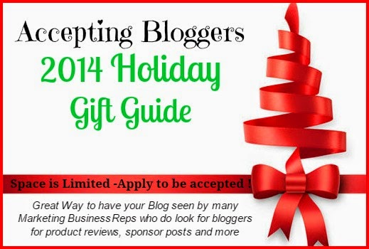 #FREE Blogger Opportunity: 2014 Holiday Gift Guide Sign Up Rolls out on Oct 25th