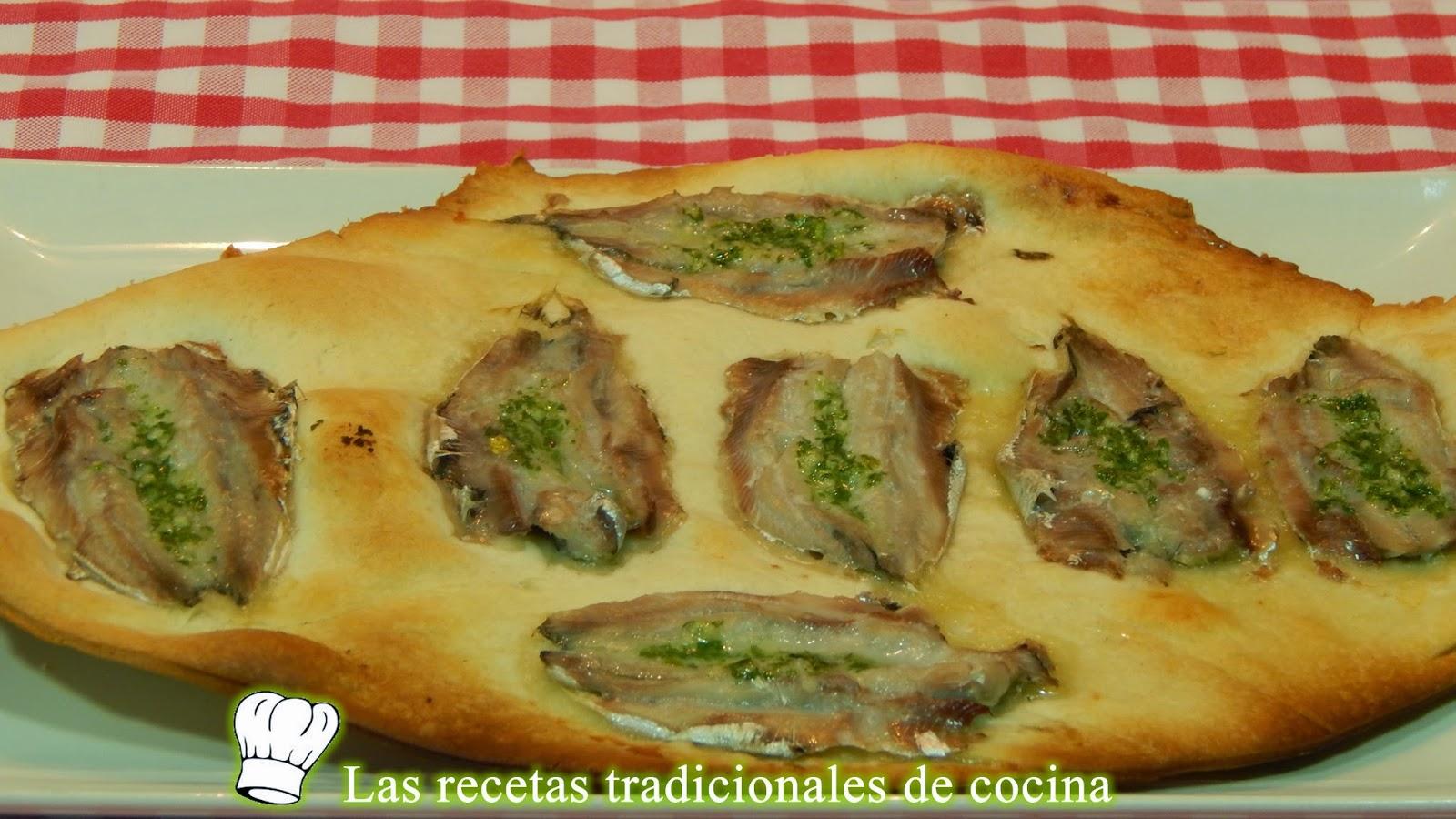 Torta de sardinas fresca