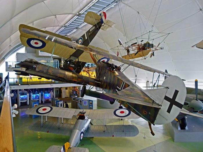 Fokker DV111, Sopwith Camel, RAF, museum