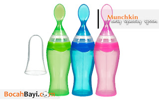 Botol Sendok Munchkin,Munchkin Easy Squeezy Spoon