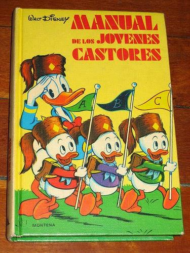 Portada del Manual de los Jóvenes Castores