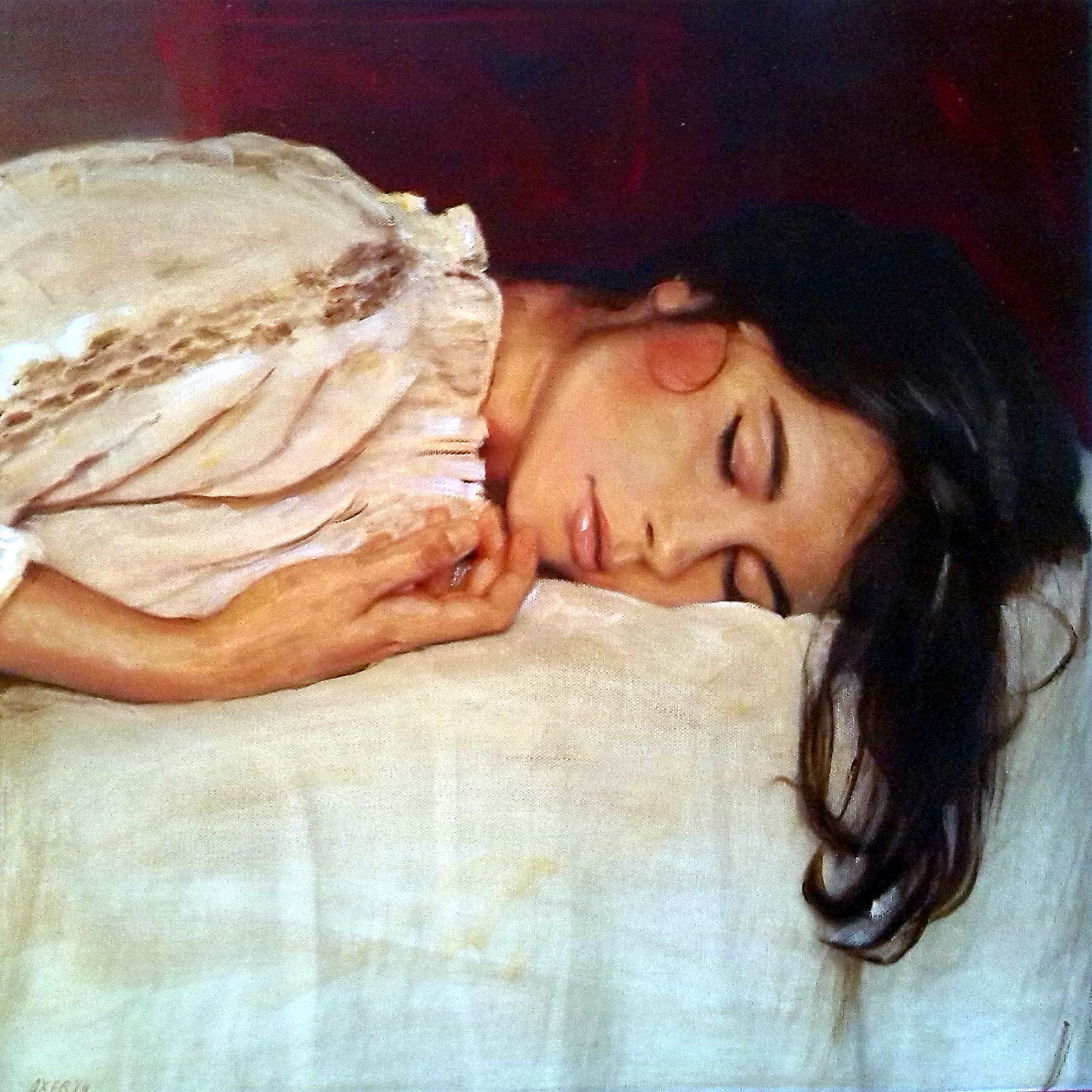 приворот когда девушка спит