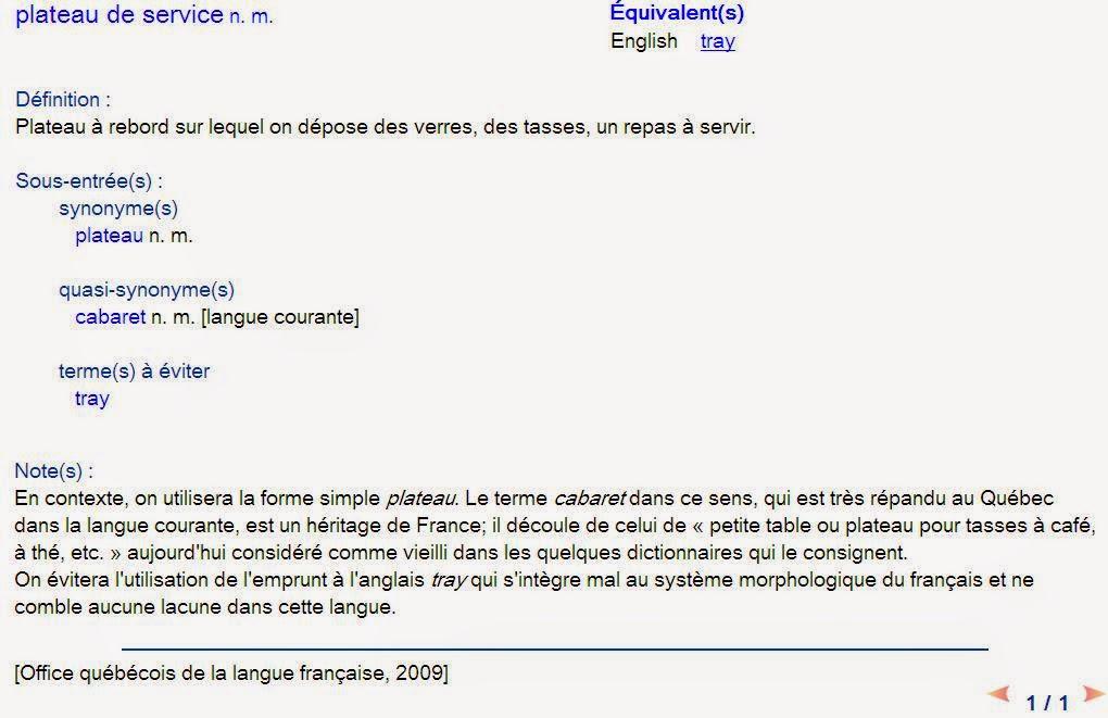 Linguistiquement correct faire et d faire c est toujours - Dictionnaire office de la langue francaise ...