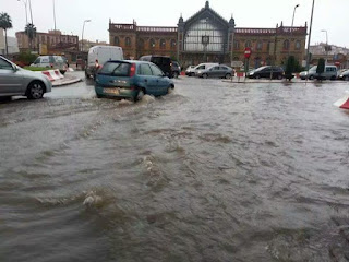 inundaciones, lluvias, almería