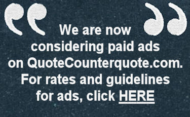 we are now accepting ads...