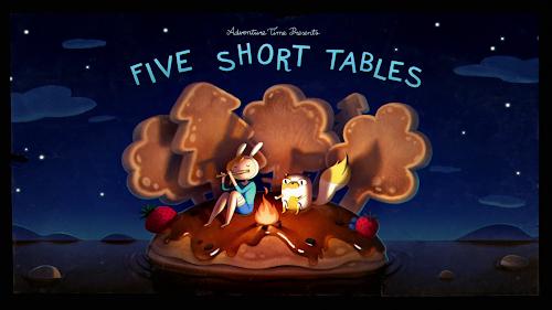 Hora de Aventura - Cinco Tabelinhas (S07E35) (WEB-DL)
