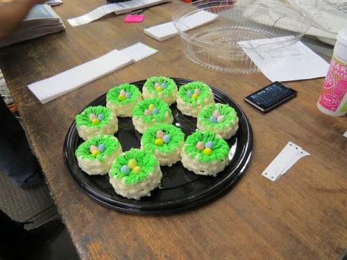 bird nest cakes