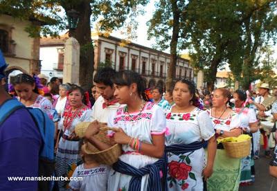 Festividad del Corpus Christi en Patzcuaro