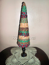 "22"" Homespun Rag Tree"