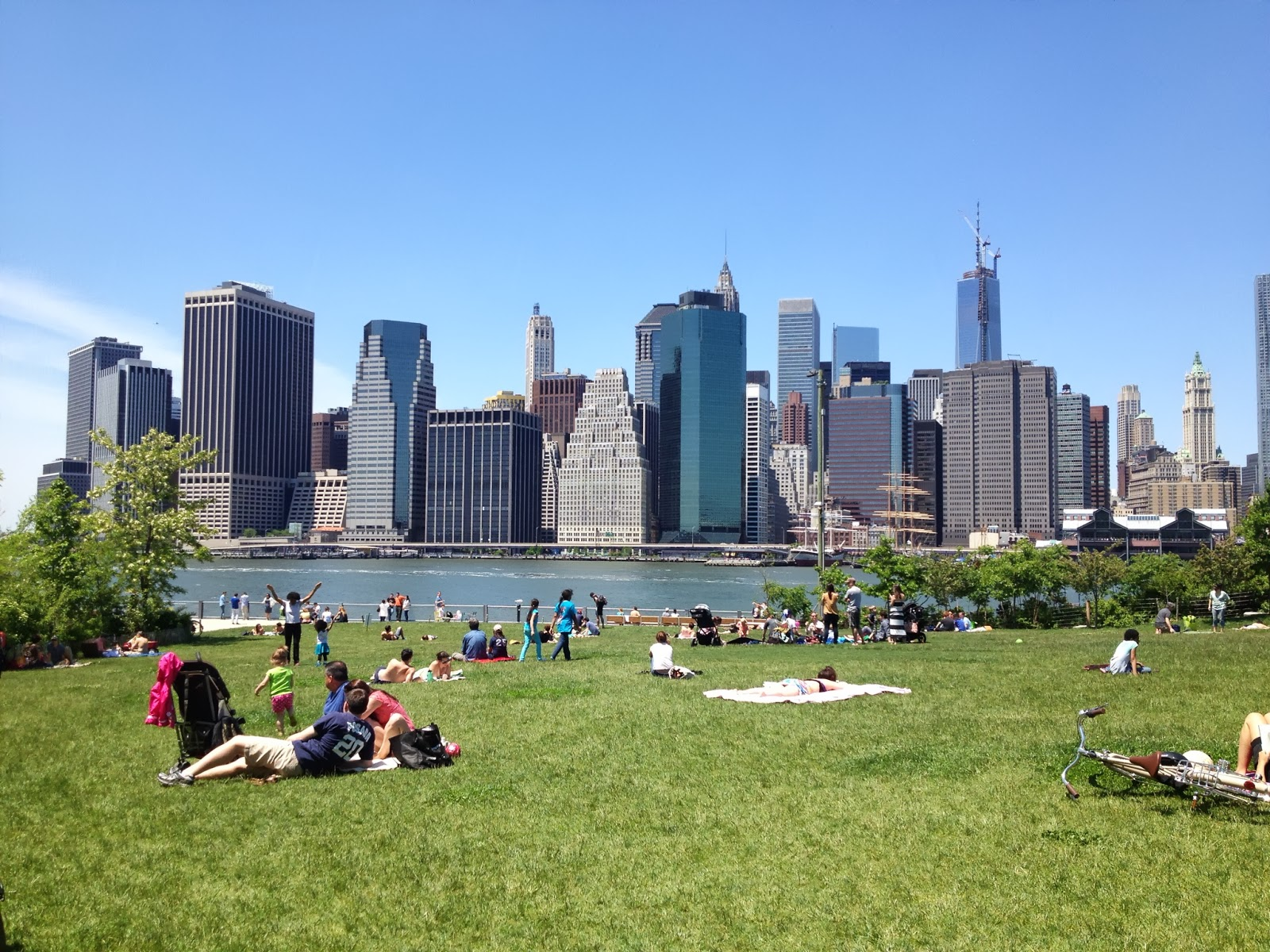 brooklyn bridge park essay
