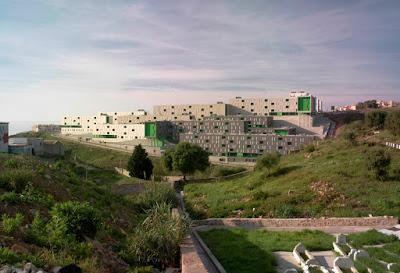 317 viviendas sociales,  Loma de Colmenar, Ceuta