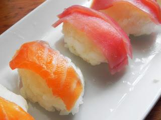 Sushi de Salmón o de Atún Rojo