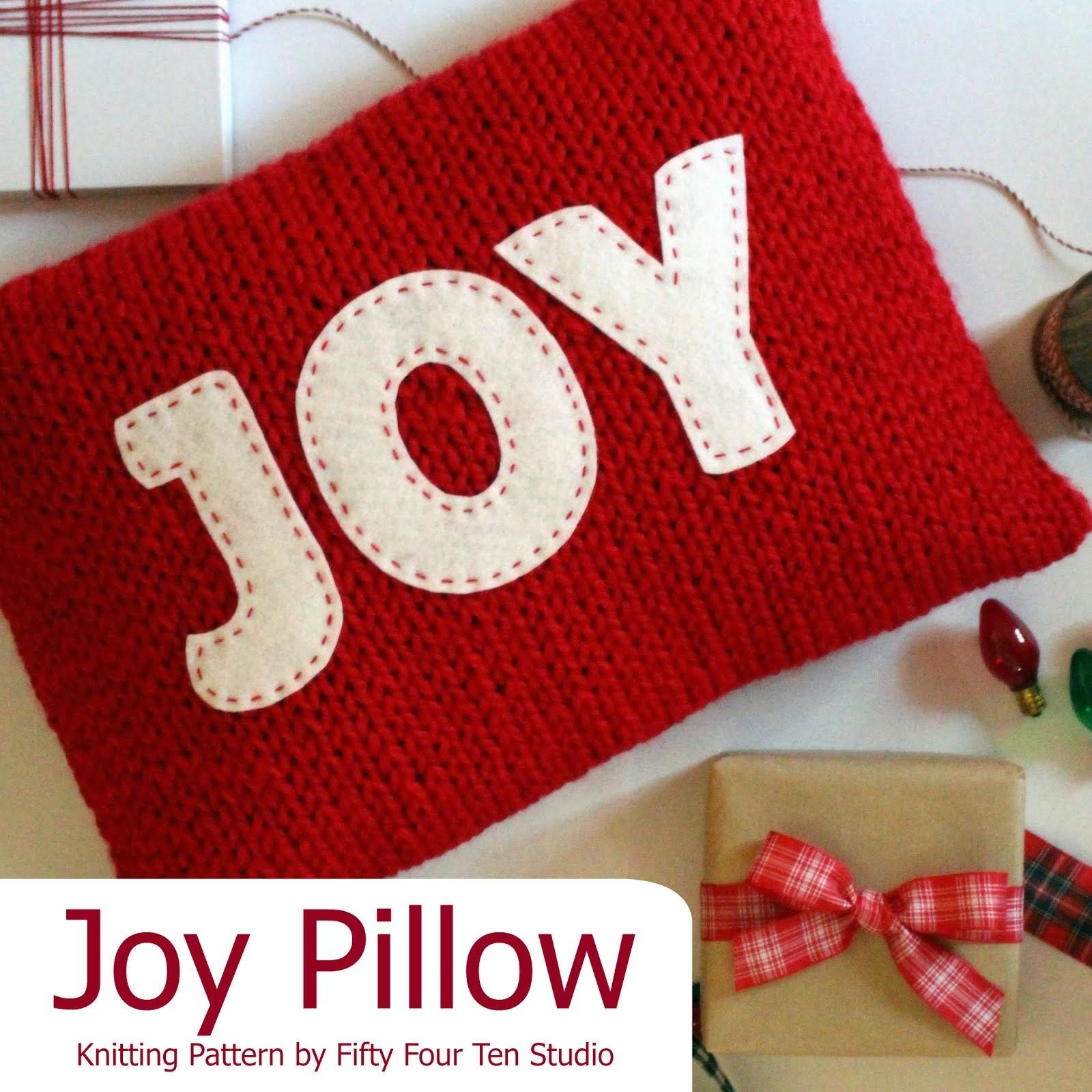 Joy & Believe Christmas Pillows