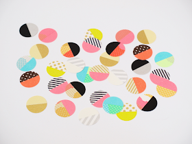 DIY: washi tape dots by momentstolivefor