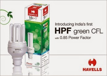Pepperfry WTF Sale: Signup / Register and Get Havells CFL 15 Watt worth Rs.170 for Rs.90 Only with Free Shipping