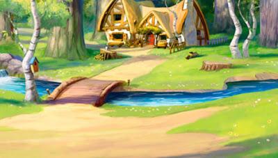 Disney soul dominios encantados for Casa enanitos