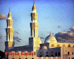 Masjid Qiblatain Gema Santri