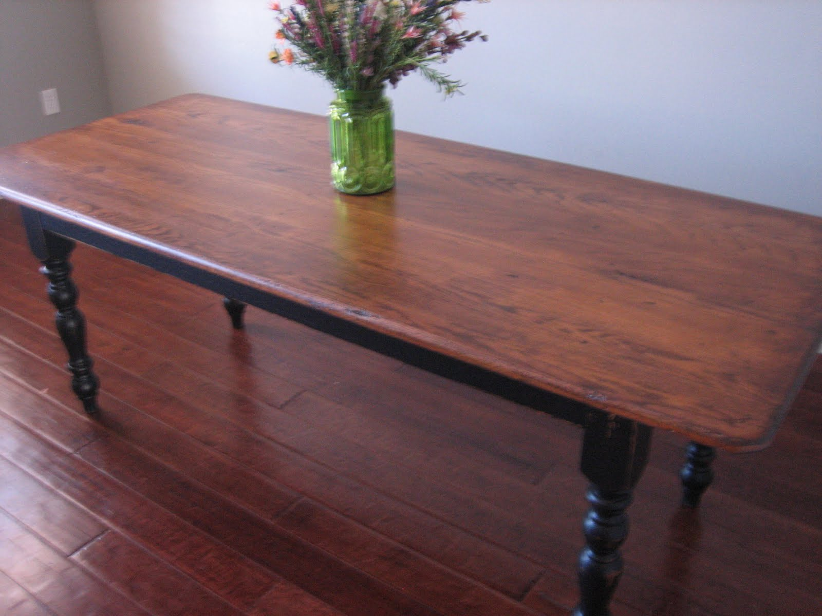 Table refinish ideas dining table refinish dining table for Redo table top ideas
