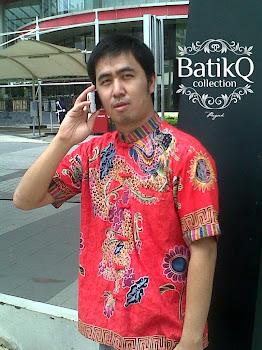 Batik Printing Gendongan Naga Merah