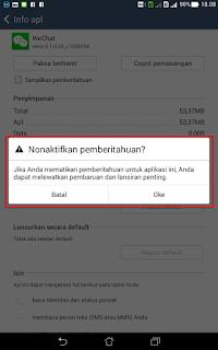 Cara menghemat Baterai Android Asus Fonepad