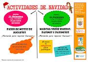 ACTIVIDADES NAVIDAD MAZAGÓN 2017
