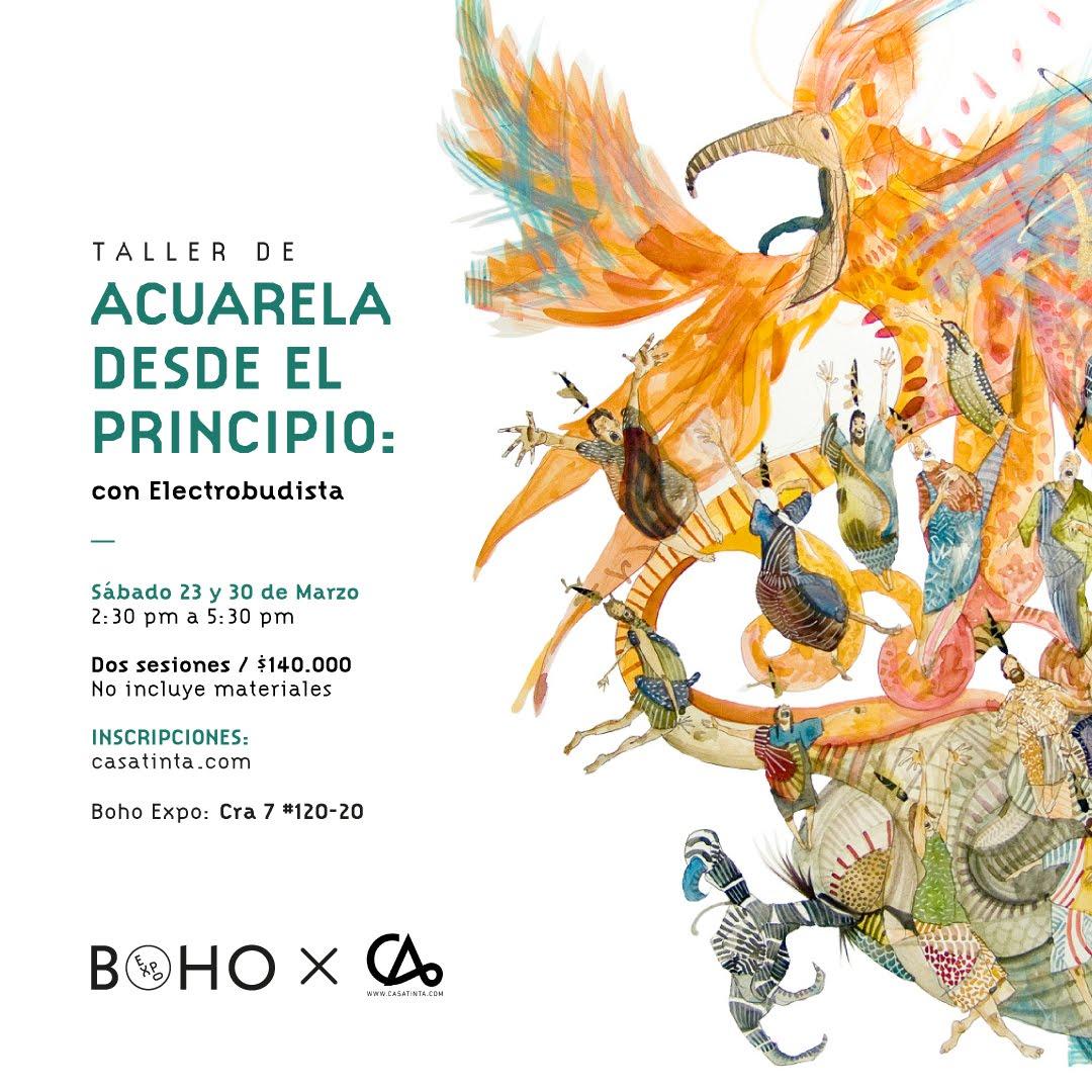 ACUARELA en BOHO EXPO // 23 de marzo