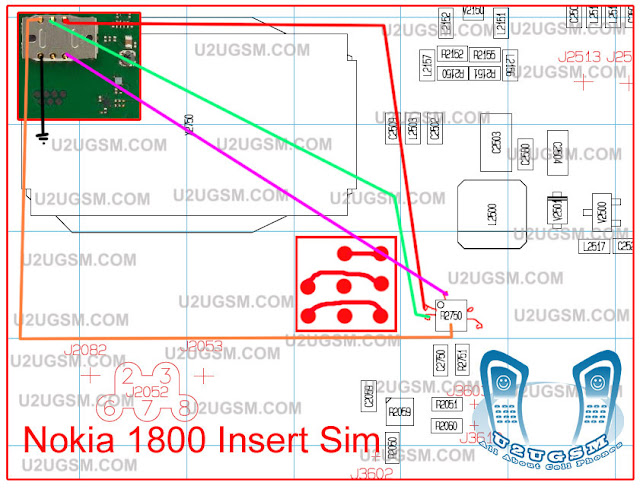 Cell Firmware  Solutions For The Nokia 1800 Insert Sim
