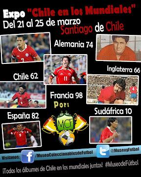 Expo 'Chile en los Mundiales'
