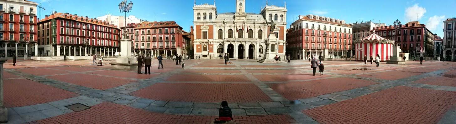 Vista Panorámica Plaza Mayor, Valladolid de las más bellas de España