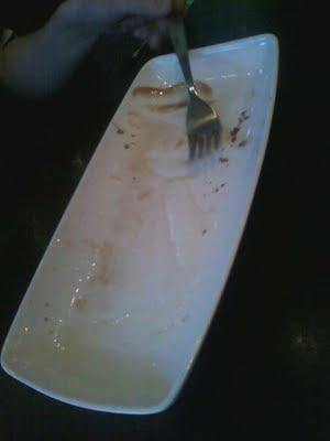 dessert all gone
