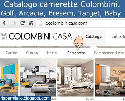 Risparmiello catalogo camerette colombini - Catalogo colombini camerette ...