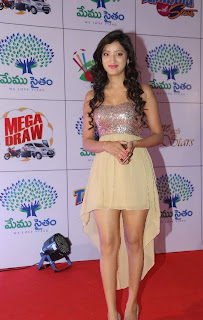 Actress Richa Panai Latest  Pictures at Memu Saitam Dinner with Stars Red Carpet  8