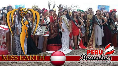 Candidatas presentan trajes típicos - Miss Earth 2015