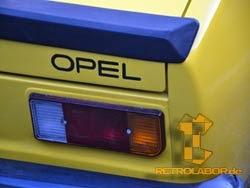 Opel Kadett GT/E decals 3