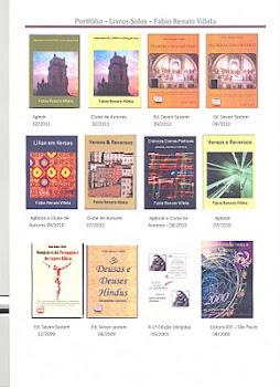Portfólio de Meus Livros Solos